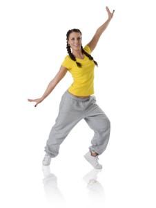 Танцевальная аэробика для похудения: польза