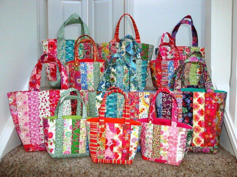 летняя сумка пэчворк