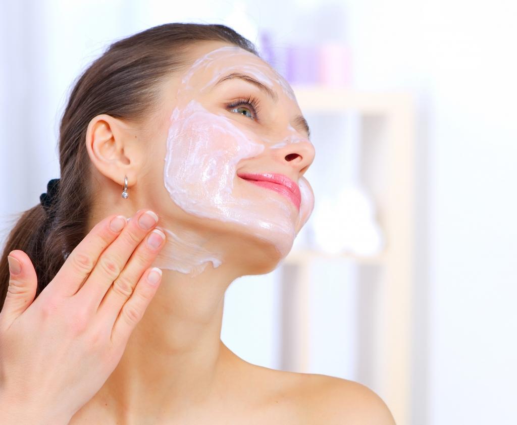 Очищение шеи кожи от морщин