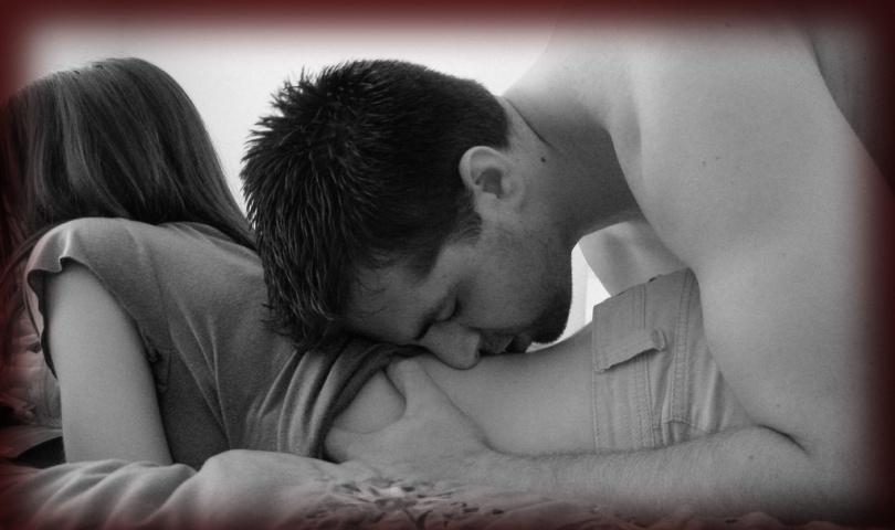 Сексуальные фото парня с девушкой