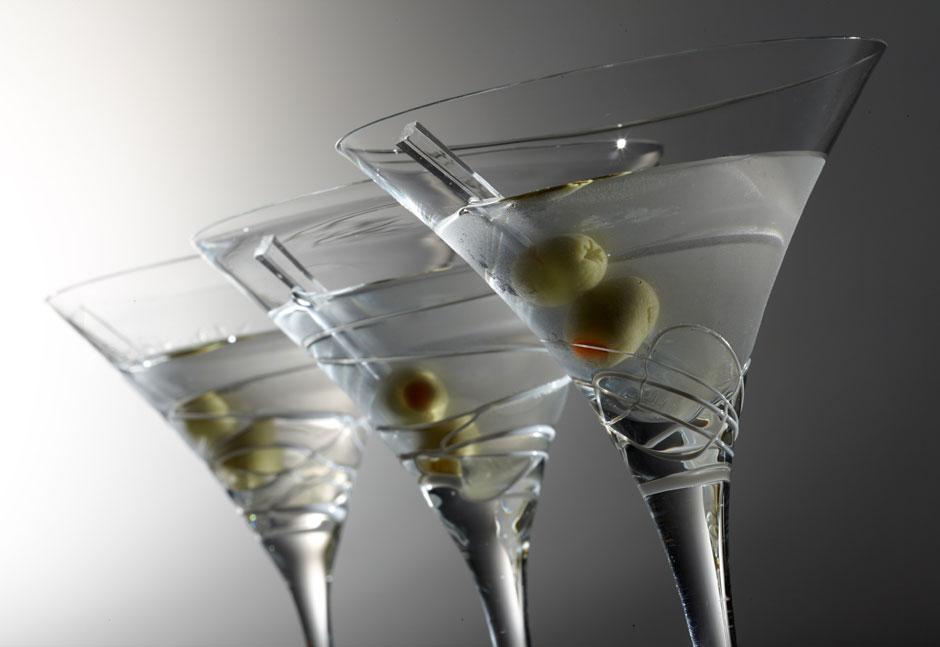 С чем пить мартини?