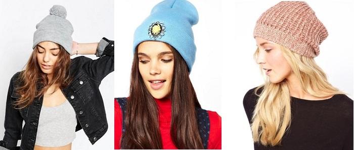 модные шапки бини 2017 год
