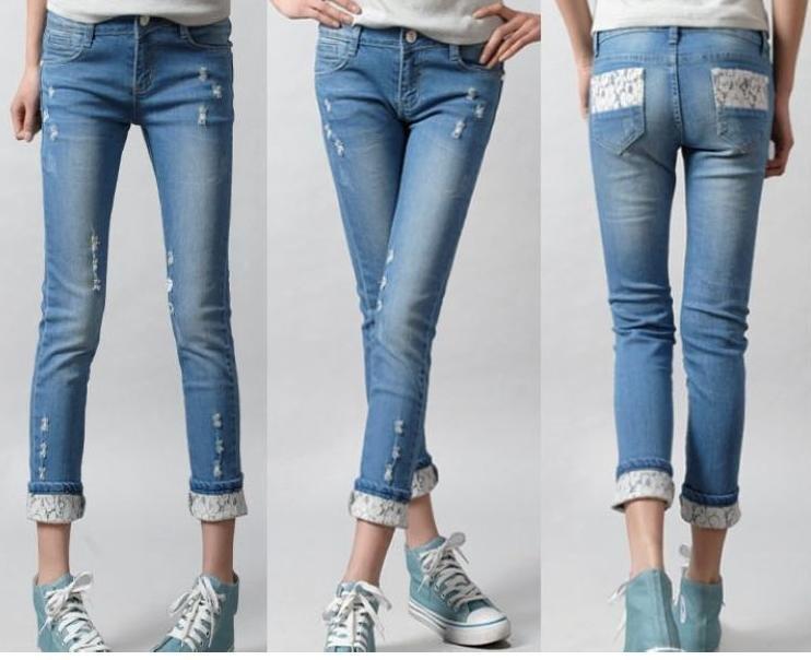 модные джинсы осень-зима 201-2017