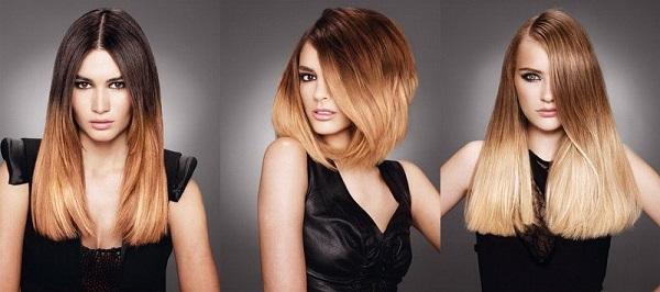 Модное окрашивание волос 2016 год