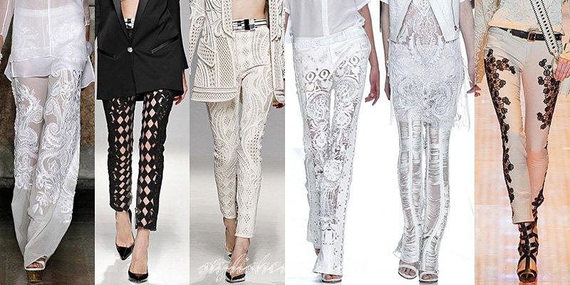 Модные летние брюки