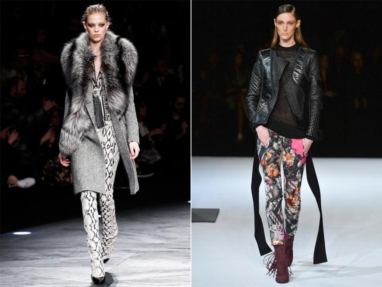 Модные брюки осень-зима 2016-2017