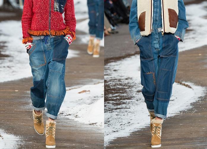 Модные джинсы осень-зима 2016-2017