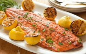 Рыба, запеченная в духовке