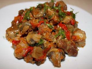 Тушеное мясо по-холостяцки