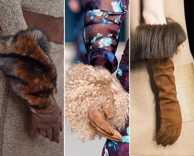 модные женские перчатки 2017