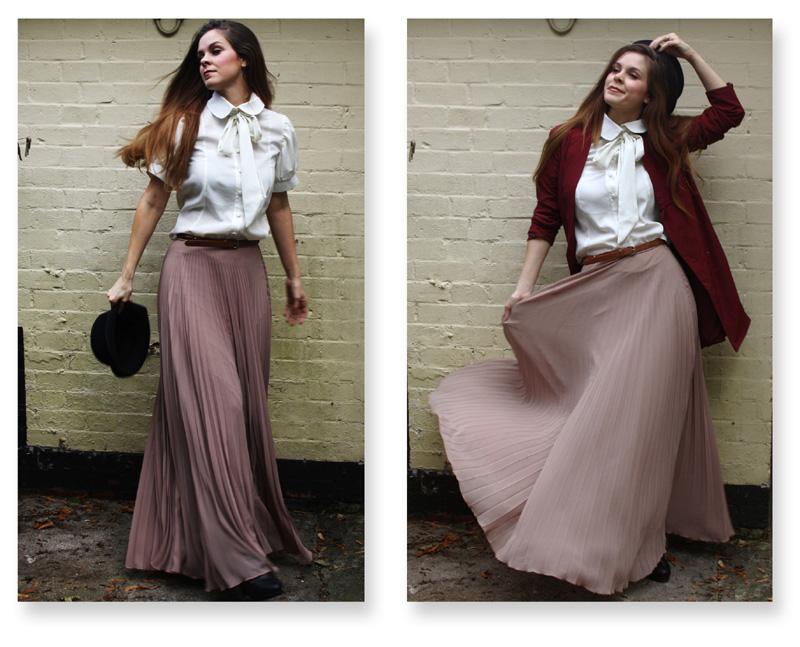 длинная юбка с чем носить