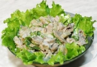 Салат из грибов