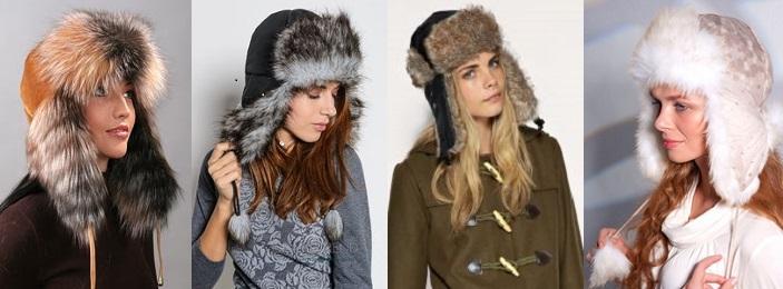 модные шапки ушанки 2017 год