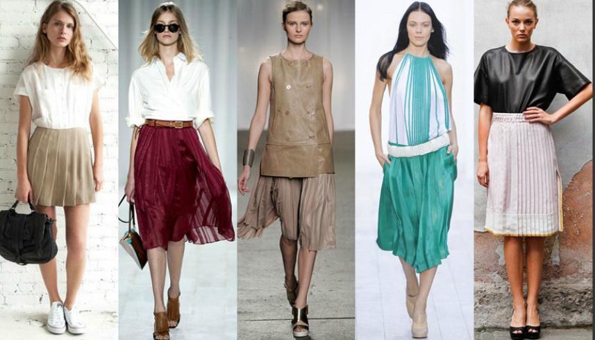 Подростковые юбки модные
