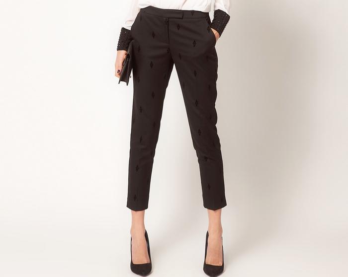 Укороченные брюки женские фото школьные юбки 2017 года модные