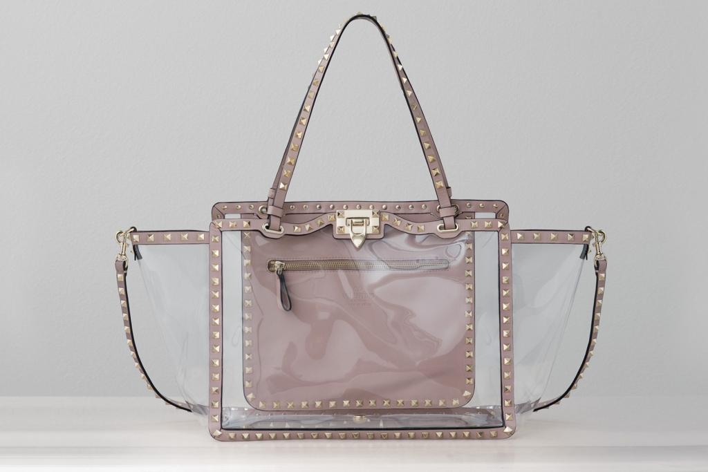 летняя прозрачная сумка